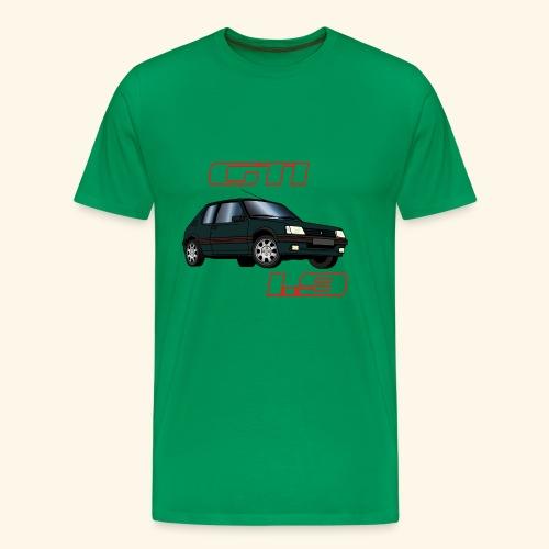 205 GTI 1,9 91 92 93 Vert Sorrento - T-shirt Premium Homme