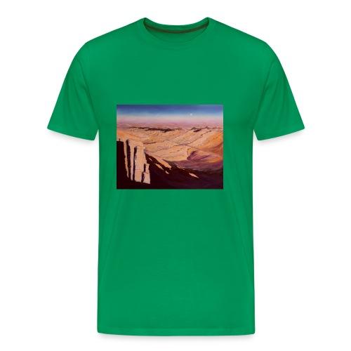 Negev Wüste in Israel - Männer Premium T-Shirt