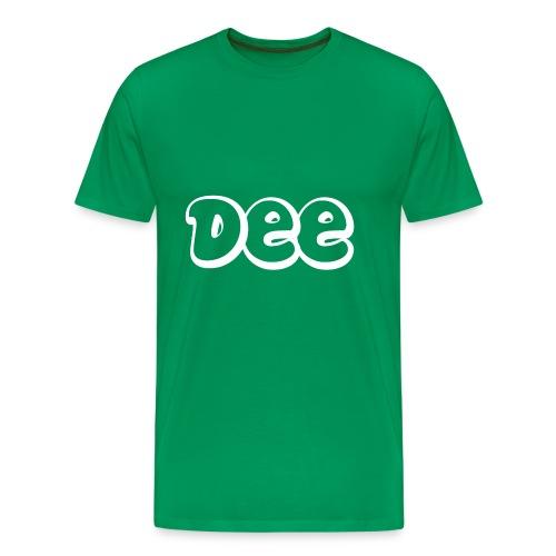 Dee T-Shirt! - Mannen Premium T-shirt
