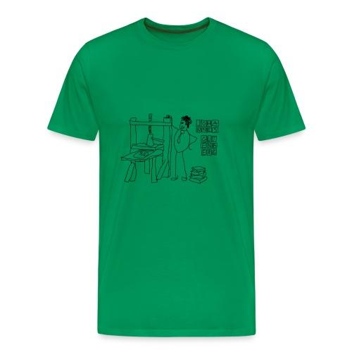 Gutenberg - Camiseta premium hombre