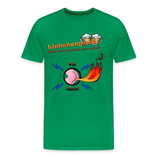 VolGaasTShirtKleur - Mannen Premium T-shirt