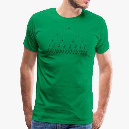 Ritmo Musical - Camiseta premium hombre