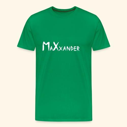 MaXxander White - Männer Premium T-Shirt
