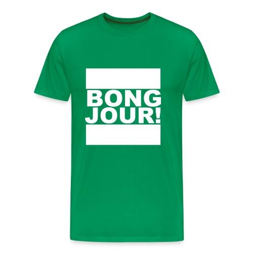 BONGJOUR! - Männer Premium T-Shirt