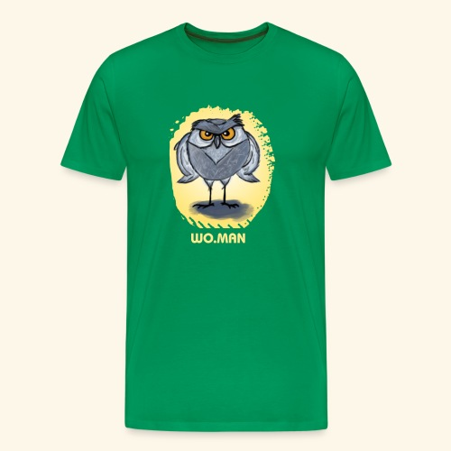 hibou wo.man design - T-shirt Premium Homme