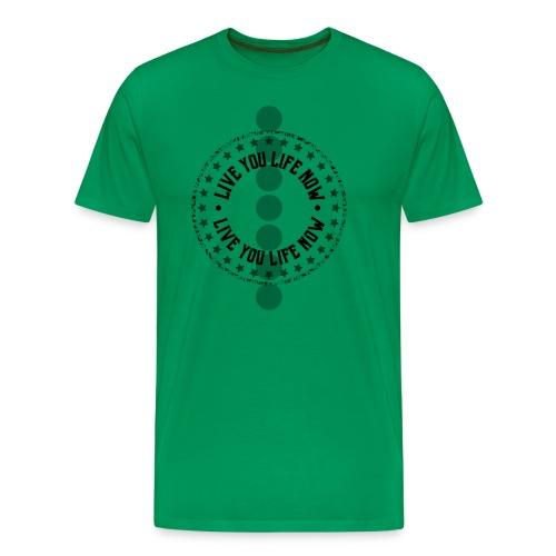 Vive Tu Vida Ahora - Camiseta premium hombre