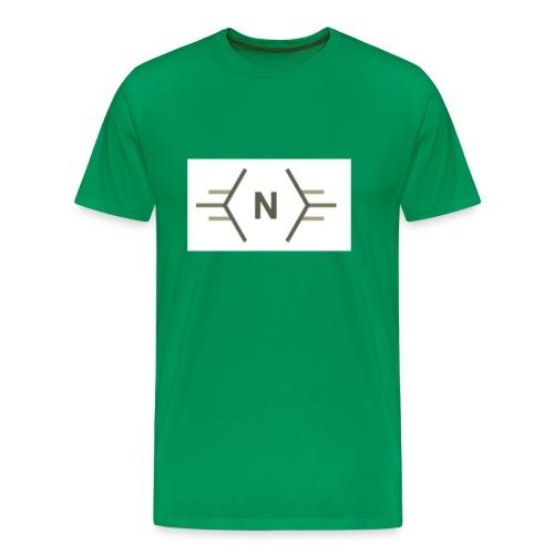 N exclusive logo - Mannen Premium T-shirt