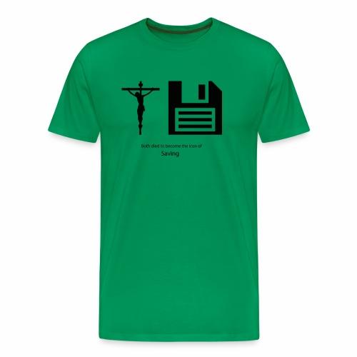 The icons of saving - Männer Premium T-Shirt