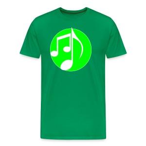 music note: MIGI WEAR - Mannen Premium T-shirt
