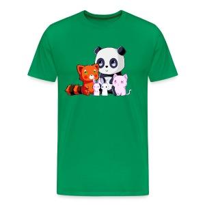 Team Kawaii - Camiseta premium hombre
