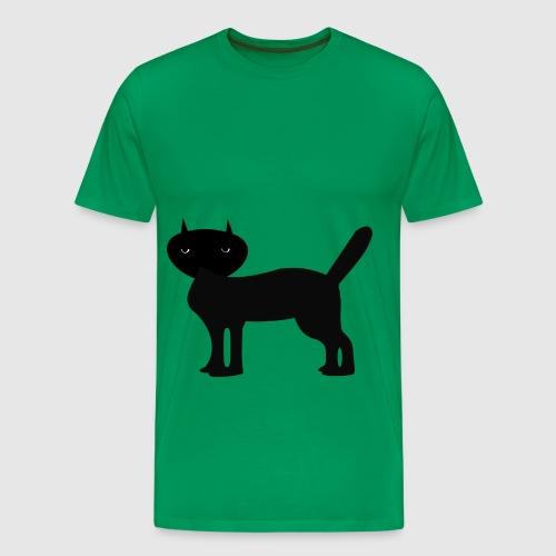 Janus Black Cat - Männer Premium T-Shirt