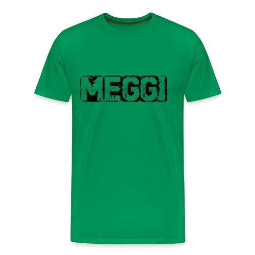 MEGGI Logo - Männer Premium T-Shirt