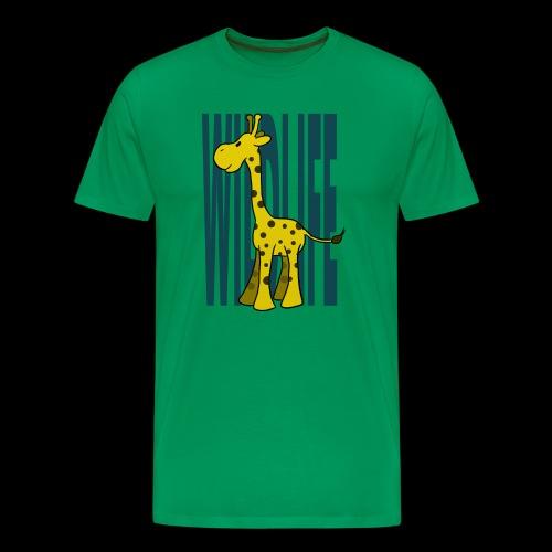 giraffe baby kinder zoo geburt schwangerschaft - Männer Premium T-Shirt