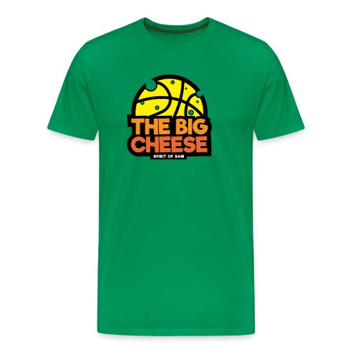 The Big Cheese Logo - Men's Premium T-Shirt