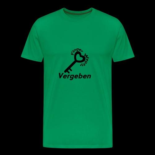 Vergeben! - Männer Premium T-Shirt