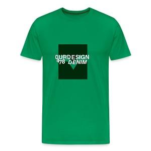 OD-ID: 004 The Green Crack - Men's Premium T-Shirt