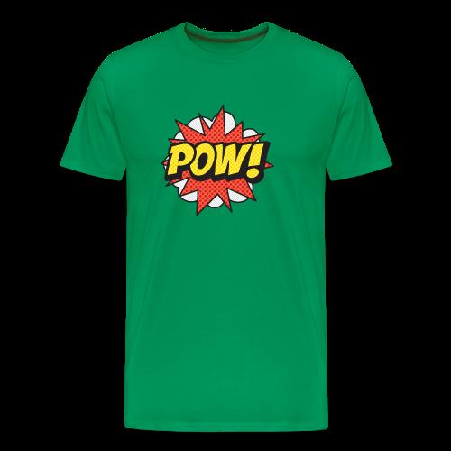 ONOMATOPOEIA. Pow! - Men's Premium T-Shirt