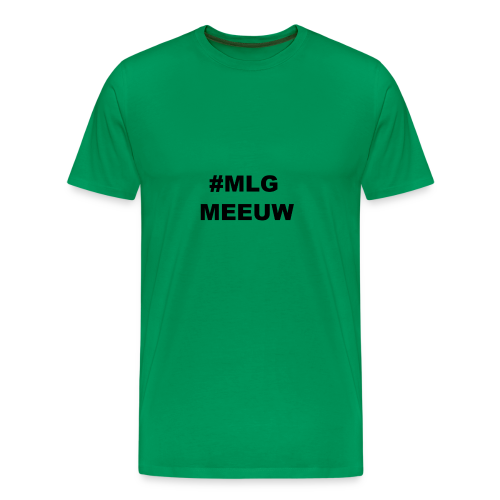 MLG MEEUW - Mannen Premium T-shirt