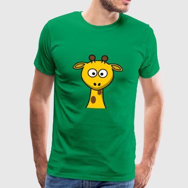 Vera Giraffe - Männer Premium T-Shirt