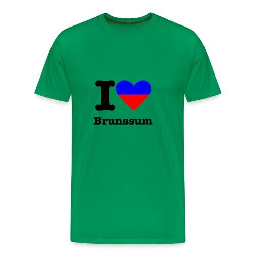 I love Brunssum, kleuren wapen Brunssum - Mannen Premium T-shirt