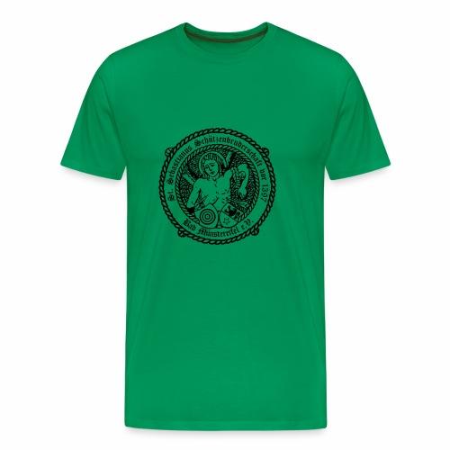 Schuetzenlogo 2018 schwarz - Männer Premium T-Shirt