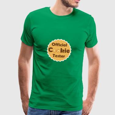 Officiell Cookie Tester - candy shirt - Premium-T-shirt herr