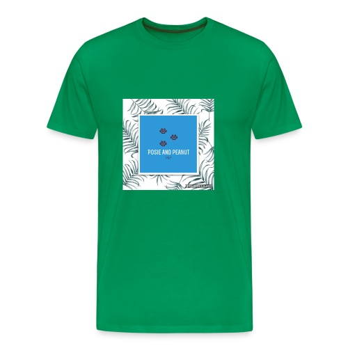 palm pooch design - Men's Premium T-Shirt