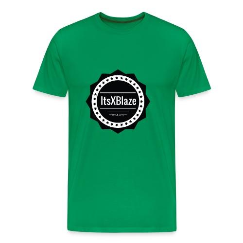 ItsXBlaze Logo 2 Hoodie - Mannen Premium T-shirt