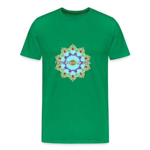 Enjoyably Quirky Colouring Book Design 9 - Men's Premium T-Shirt