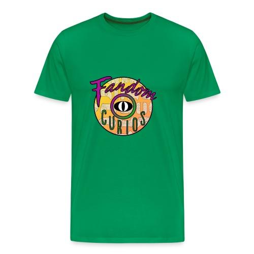 Fandom Curios LOGO - Men's Premium T-Shirt
