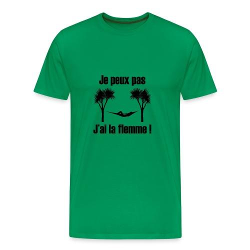 je peux pas je suis de repos - T-shirt Premium Homme