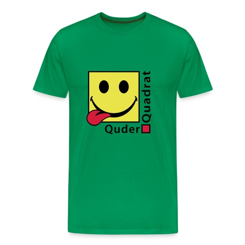 Quderquadrat - Männer Premium T-Shirt