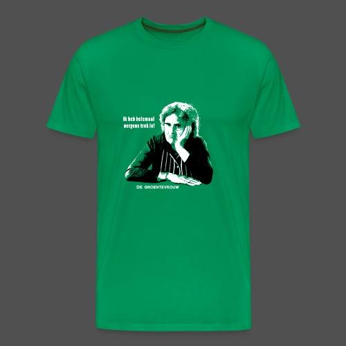 Ik heb helemaal nergens trek in - Mannen Premium T-shirt