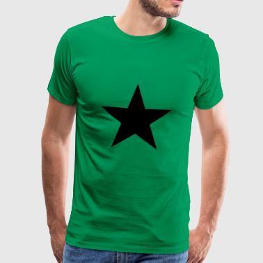 símbolo de la estrella - Camiseta premium hombre