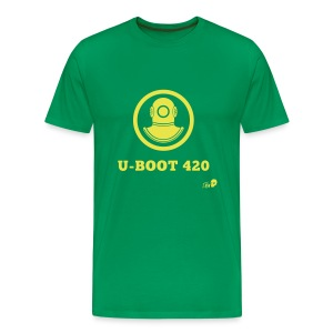 U boat 420 - Men's Premium T-Shirt