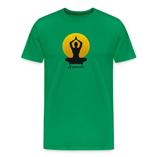 Namaste - Männer Premium T-Shirt