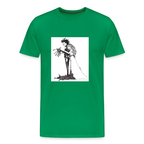 EdwardScissorhands.jpg - Men's Premium T-Shirt