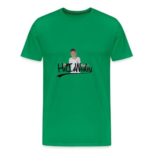 HetIsWesley T-Shirt - Mannen Premium T-shirt