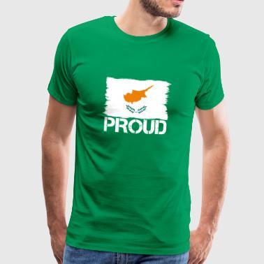 Ylpeys lippu, lippu natiivi syntyperä Kypros PNG - Miesten premium t-paita
