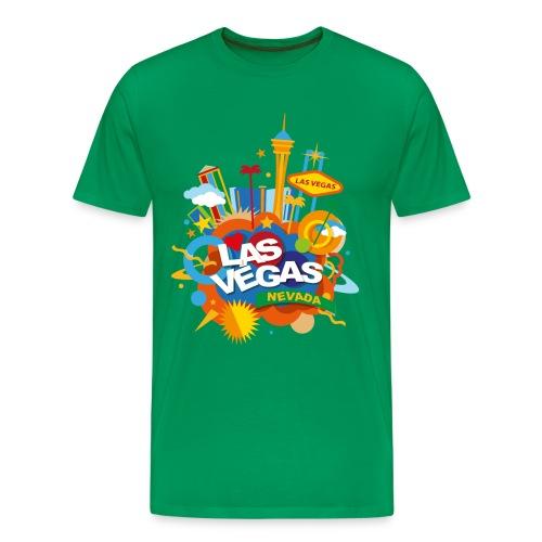 Las Vegas - Maglietta Premium da uomo