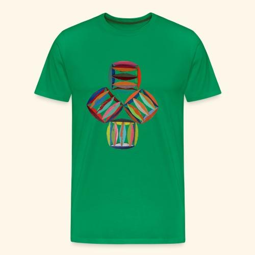 square2square - Mannen Premium T-shirt
