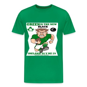 GREEN IS THE NEW BLACK !! - Men's Premium T-Shirt
