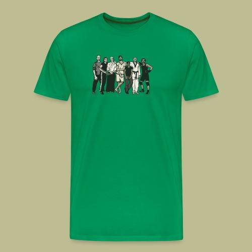 Kampfkunstschule Neukölln Gang - Männer Premium T-Shirt