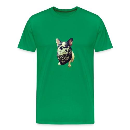 Bandana Dog - Men's Premium T-Shirt