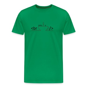 Entwicklerpause - Männer Premium T-Shirt
