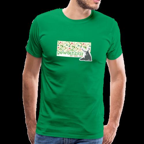 geweihbär ART - Männer Premium T-Shirt