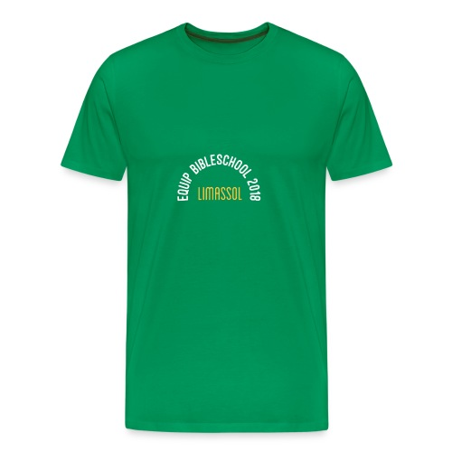 EQUIP BIBLESCHOOL WHITE - Premium-T-shirt herr