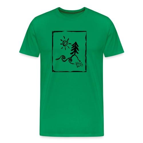 Hello Elements Boxed - Men's Premium T-Shirt
