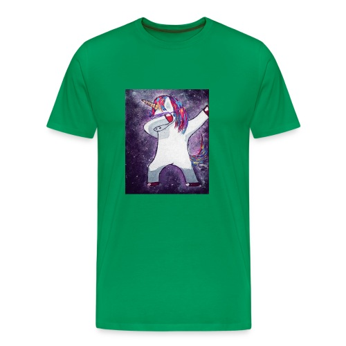 Space-Einhorn - Männer Premium T-Shirt