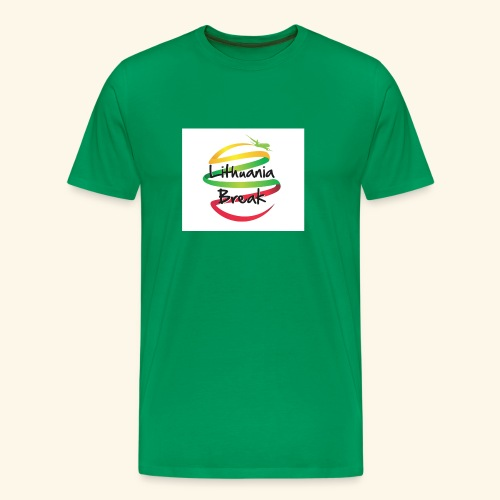 Lithuania Break - Men's Premium T-Shirt